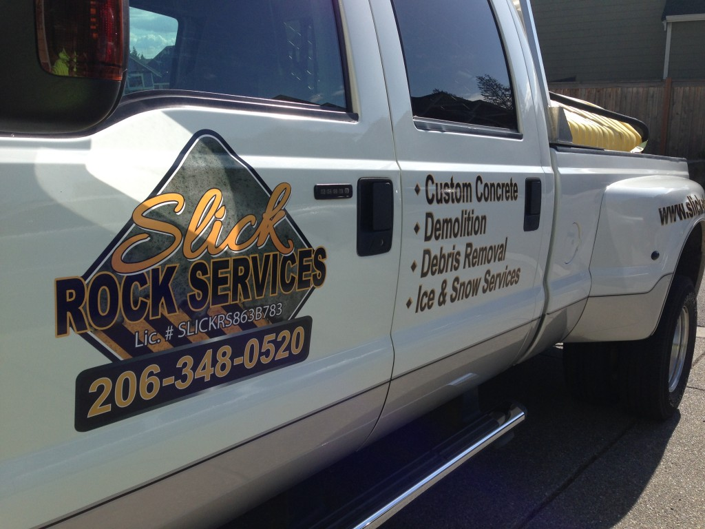 High quality vehicle graphics for Slick Rock of Everett, Wa