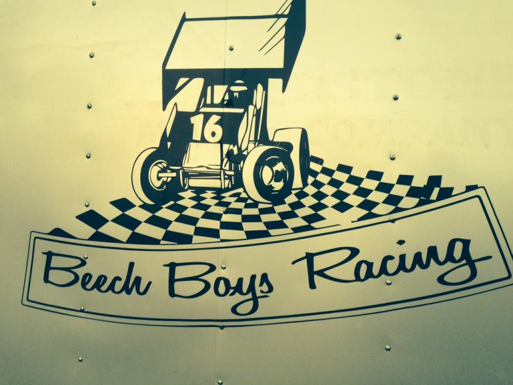 Race Trailer Graphics for Beech Boys Racing