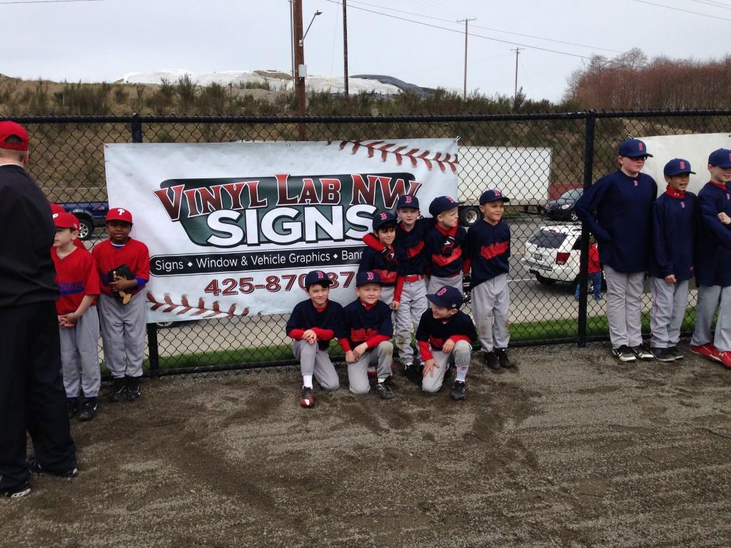 custom banners for little league