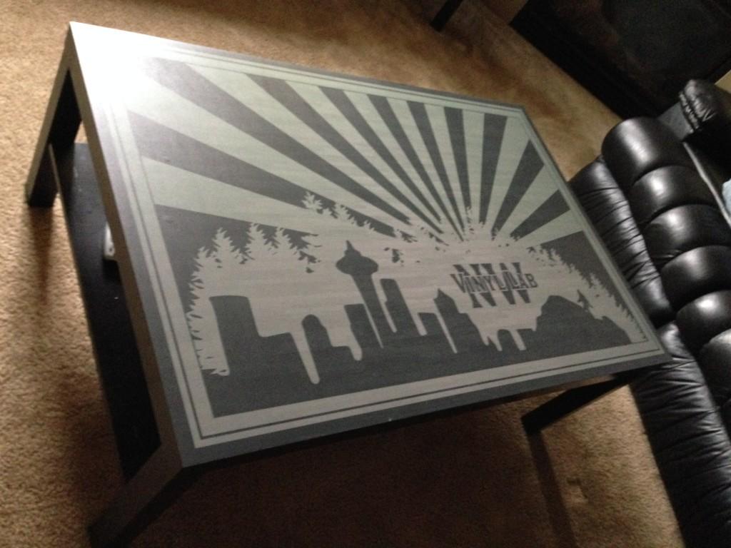 Vinyl Lab NW Table Skin
