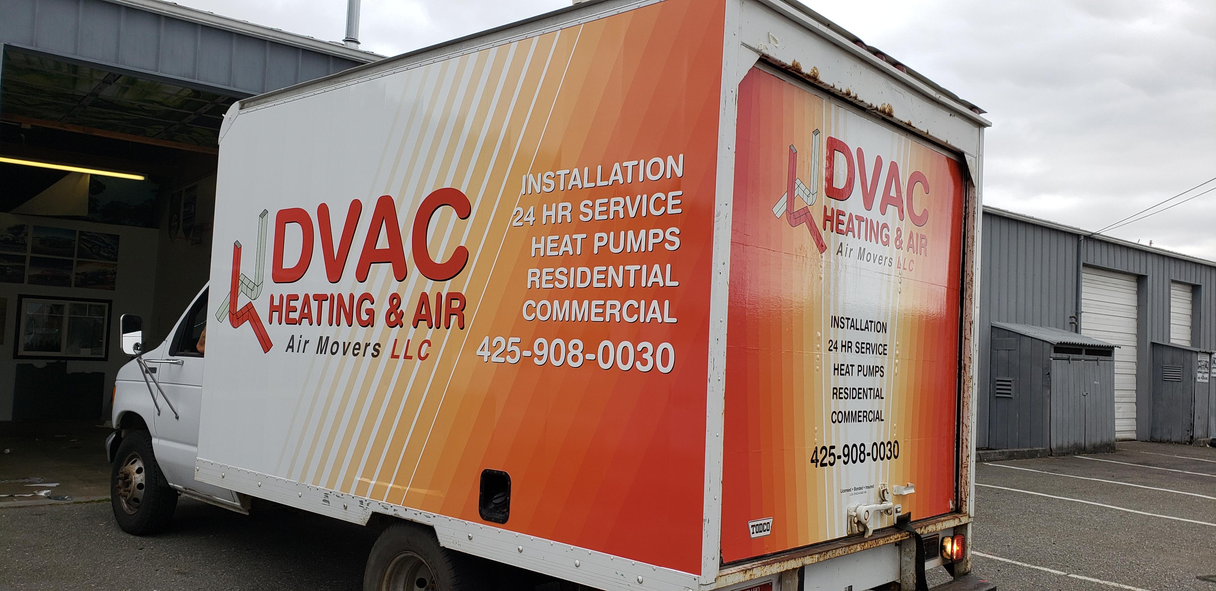 Box Truck Vinyl Wrap Graphics Cube Van