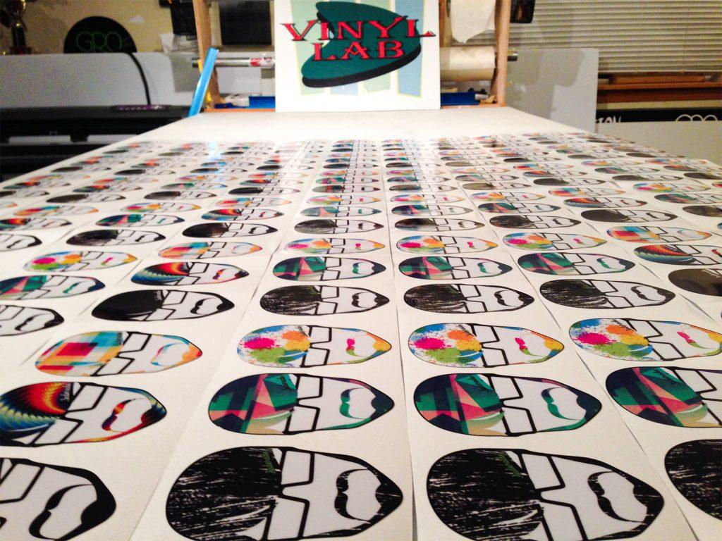 Die-Cut Stickers - Jade