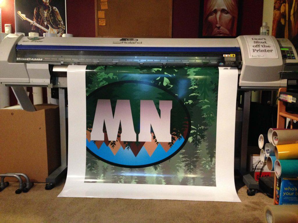 Paint Pros Vinyl Graphic Printing