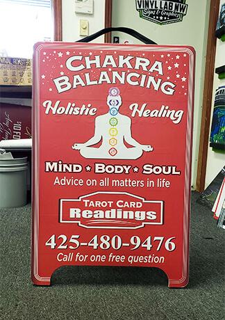 Chakra Balancing Sandwich Sign