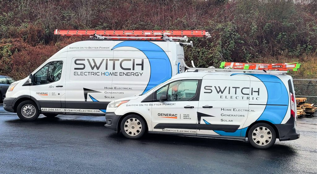 Switch Electric Car Wrap and Decals