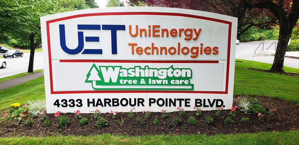 Washington Tree Care Sign